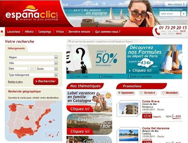 Espanaclic.com a enregistré un chiffre d'affaires de 1,7 millions d'euros