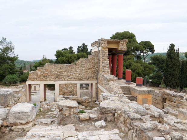 Le site de Knossos © TourMaG