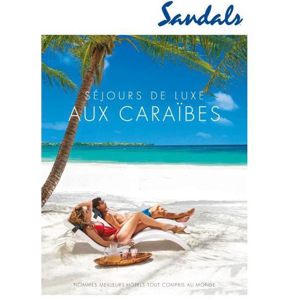 Sandals distribue 10 000 brochures « Séjours de luxe aux Caraïbes » - Crédit photo : Sandals