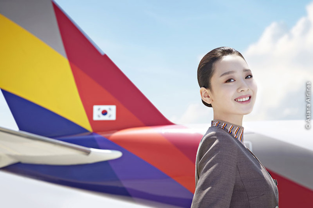 Hôtesse Asiana Airlines