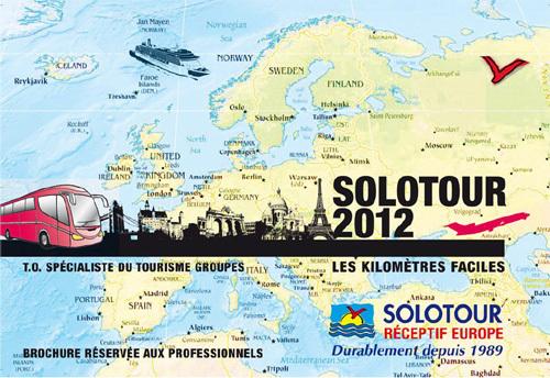 Le catalogue  2012 a gardé son format compact avec des onglets par pays, aprécié par les partenaires