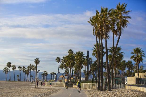 La Venice Broadwalk à Los Angeles - Photo LA Tourism
