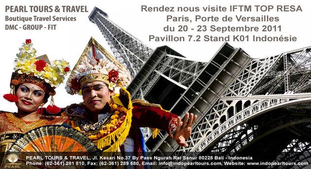 Venez rencontrer PEARL TOURS & TRAVEL à TOP RESA!