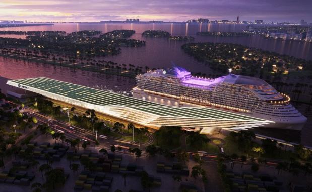 Avec ces nouvelles installations, MSC Croisières attirera plus d'un million de passagers au Port de Miami chaque année - DR : MSC Croisières
