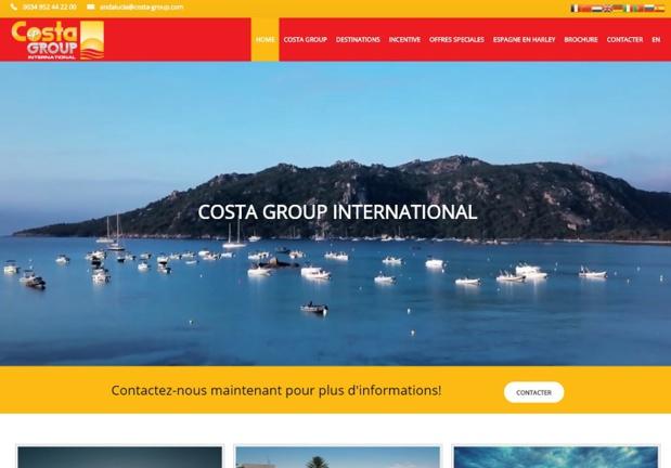 Costa Group est une agence réceptive basée en Espagne, spécialisée sur le bassin méditerranéen et dirigée par Philippe Bernard - DR : Capture d'écran Costa Group Int.
