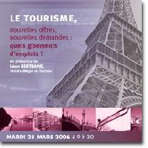 COE : séminaire ''le tourisme, nouvelles offres, nouvelles demandes''