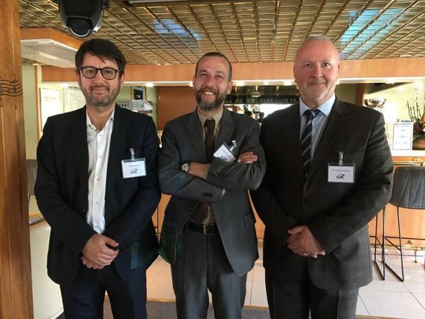 Paul Nuyens, responsable Clia France, Belgique et Pays-Bas, Erminio Eschena, président de Clia France, et Tor Christian Sletner, vice-président Clia Europe. - CL
