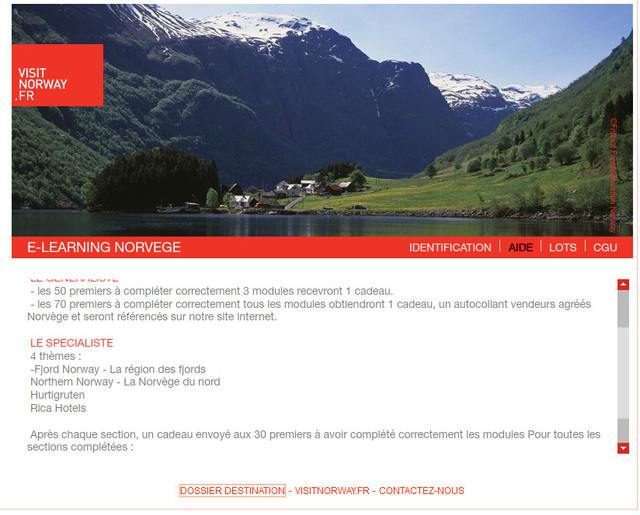 Visit Norway lance son e-learning