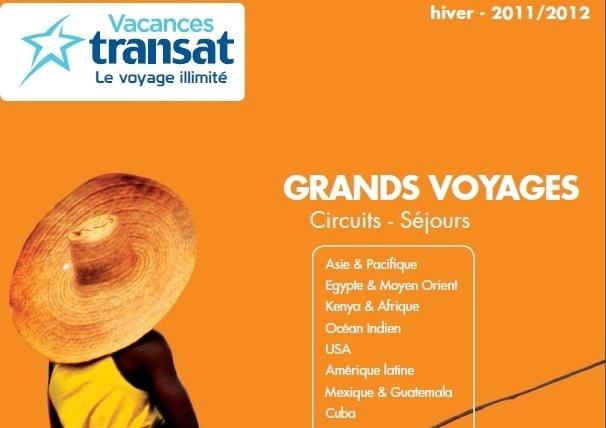 Vacances Transat divise sa production sur deux brochures « Les grands Voyages » et « les Merveilles d'hiver », complété par les Voyages Originaux dont la troisième version sortira en mai prochain.