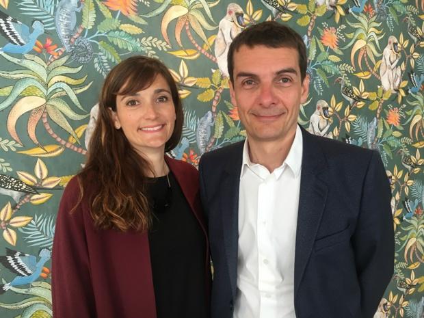 Aline Ducret, directrice marketing et Sylvain Rabuel, directeur général des marchés France, Europe, Afrique. - CL