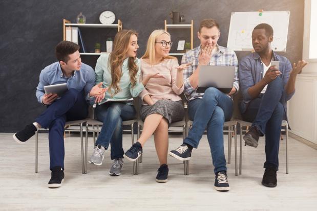 Bien qu'attractives, les start-ups peuvent avoir des difficultés à recruter. - Depositphotos