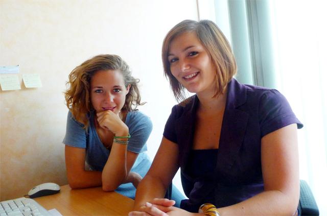 De gauche à droite : Marion Lemaire, Assistante marketing et Soline Bogdanovic, responsable du développement de Novéa Vacances - DR