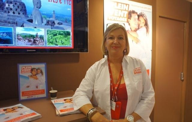 """""""Dès que FRAM propose une chaîne charter, il y a la production Plein Vent qui vient se greffer derrière"""" explique Carole Pellicer, Directeur général Délégué"""
