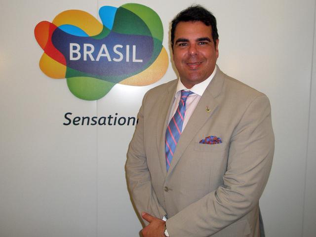 Marco Lomanto, l'un des directeurs de l'Embratur - DR