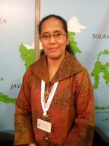 Maria Mayabubun, Directrice adjointe pour la promotion du tourisme en Europe du Ministère de la Culture et du Tourisme - DR