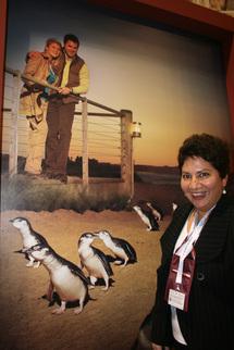 Mélanie De Souza, la Directrice générale de Tourism Victoria - DR : J.Beveraggi