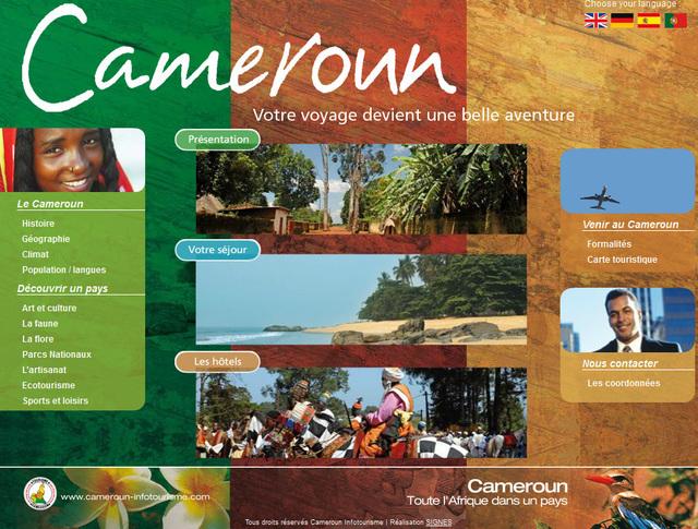 Le site Internet du Bureau d'Information Touristique pour l'Europe : Cameroun-infotourisme.com.