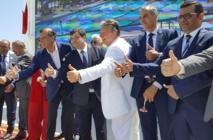 René Trabelsi lors de l'inauguration du Club Med à Djerba - RP