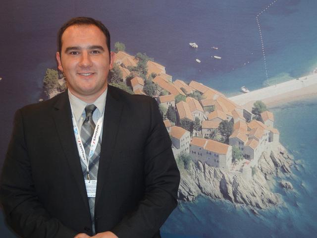 """Emil Kukalj, directeur communication, stratégie et développement de l'OT montenegrin : """"Nous visons une croissance modérée. Nous recevons déjà plus d'un million de touristes alors que nous ne sommes que 660 000 habitants"""" - DR"""