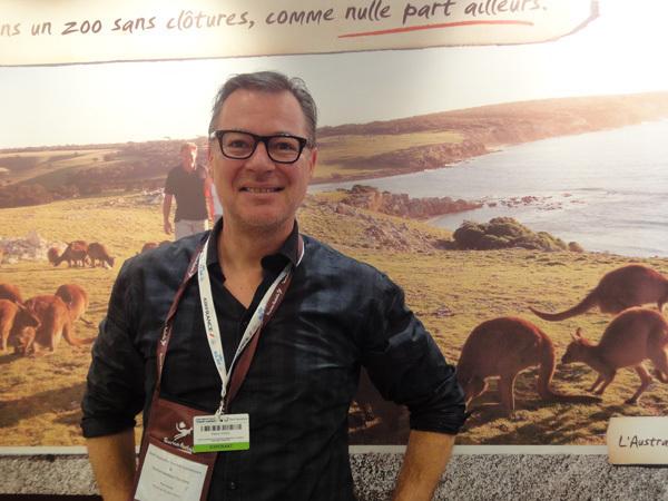 Pierre Vivès, représentant de Australie du Sud et Territoires du Nord en France