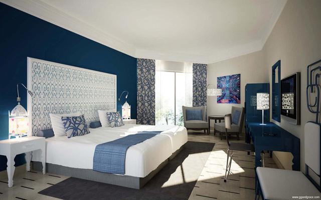 En plus des 273 chambres et suites, l'établissement comprendra 63 villas - DR