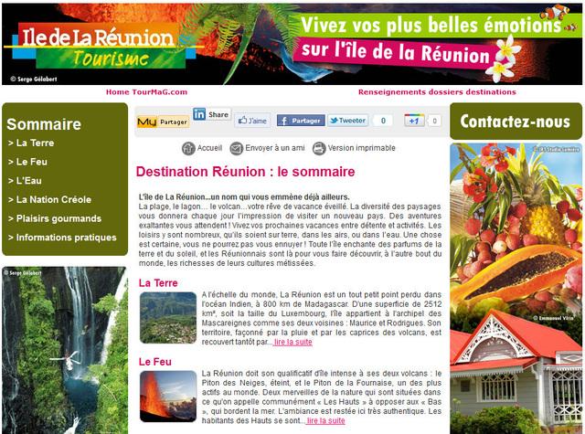 La Réunion : un nouveau dossier destination sur TourMaG.com