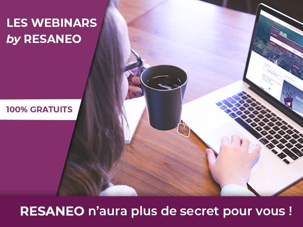 Les webinars by Resaneo