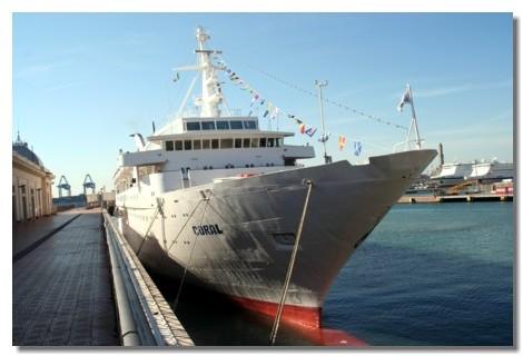 Croisifrance : le « Coral » à l'épreuve des agents de voyages