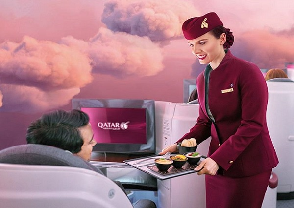 Qatar Airways : une campagne pour multiplier ses réservations en Classe Affaires - Crédit photo : Qatar Airways
