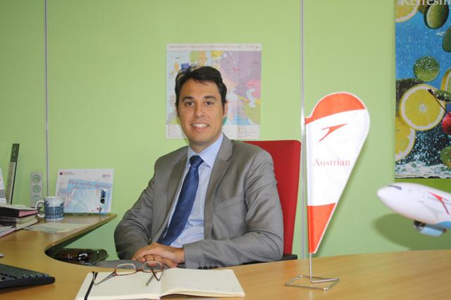Austrian Airlines : Benjamin Lanier, nouveau Directeur France et Benelux