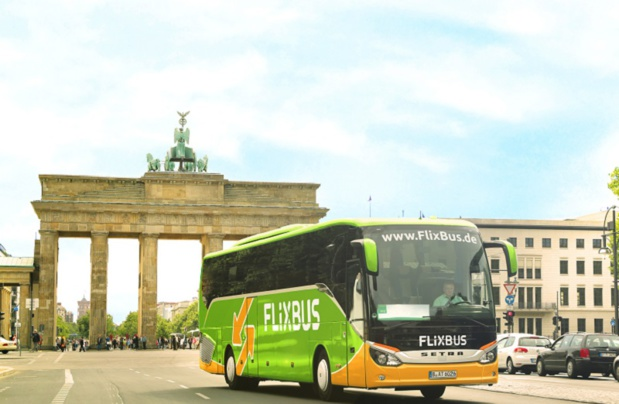 La cession porte sur les activités d'Eurolines en France, aux Pays-Bas, en Belgique, en République Tchèque et en Espagne, avec un réseau de cars couvrant 25 pays. - DR Flixbus