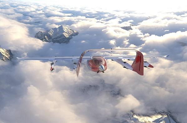 Zuri et Kiwi.com pourraient bien proposer la première compagnie de drones à décollage et atterrissage verticaux, d'ici quelques années - Crédit photo : Zuri