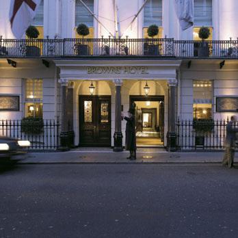 Brown's Hotel à Londres - DR - Rocco Forte