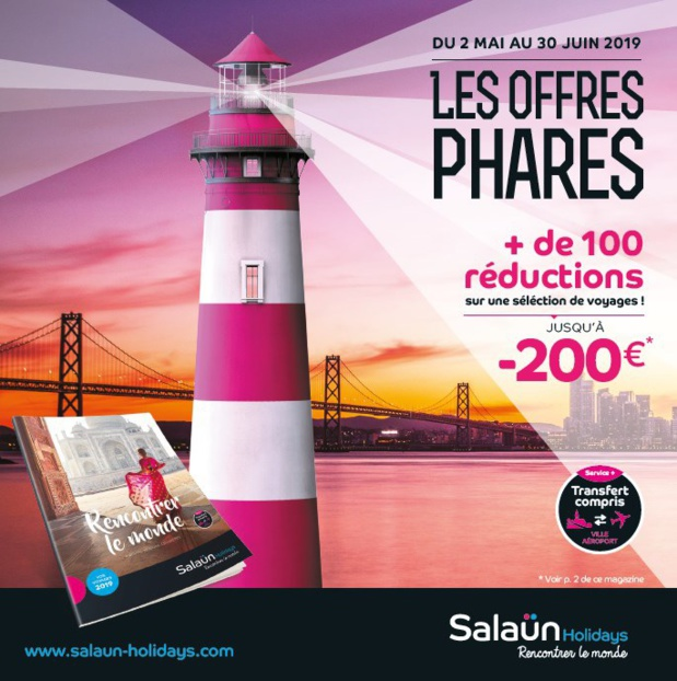 "Salaün Holidays lance ses ""Offres Phares"" 2019"