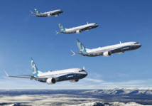Les 737 Max 8 sont cloués au sol depuis le 13 mars 2019 © Boeing