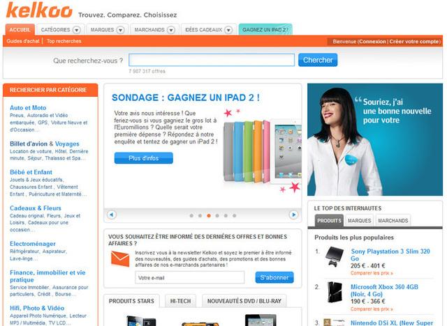 Ce portail est surtout connu en France pour ses pages shopping. Il apparaît en effet dans les cinq premières positions d'une recherche Google pour acheter un frigo, une cafetière, ou un téléphone.