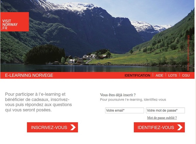 La Norvège lance son e-learning