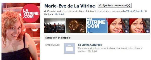 Source: Marie-Ève de la Vitrine – Facebook
