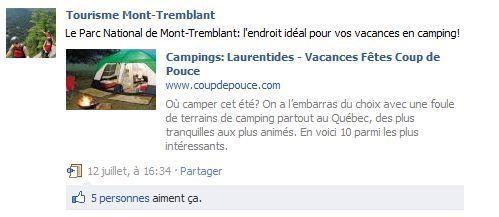 Source: Tourisme Mont-Tremblant