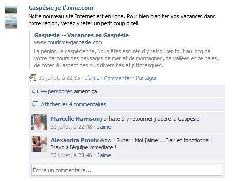 Source: Gaspésie je t'aime.com