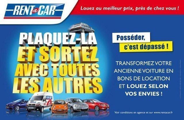Rent a Car reprend votre véhicule contre des bons de location