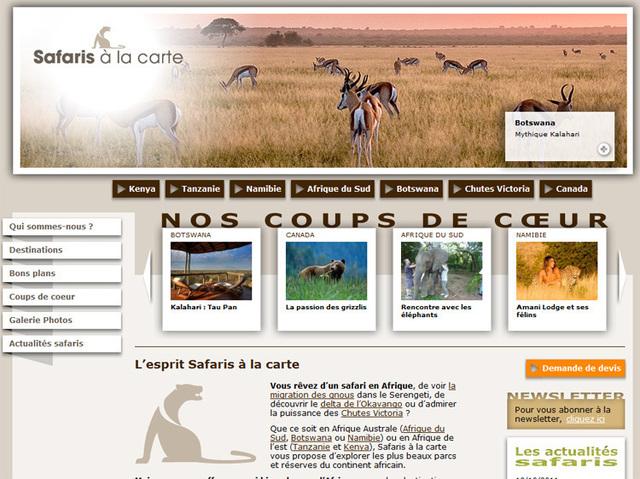 Le site web de la nouvelle marque du Groupe Odyssée