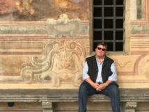 À Naples dans un cloître où l' Esprit Saint a failli lui tomber dessus... - MYL