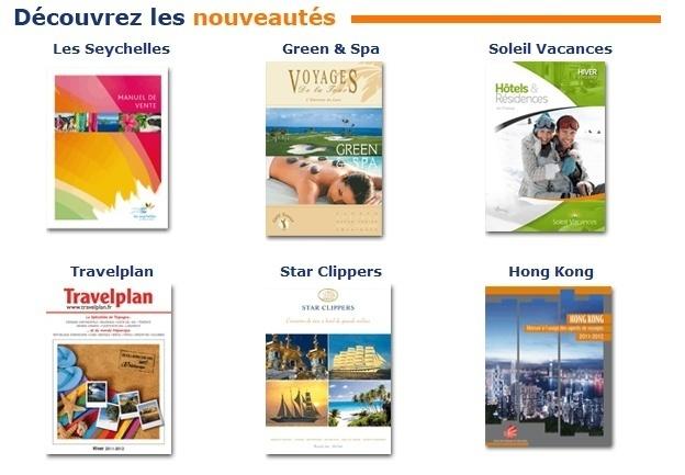 Le site Brochuresenligne.com (cliquer sur l'image) devient avec ses 200 brochures un guichet ''unique'' où l'on trouve plus de 90% de la production française tous secteurs confondus.
