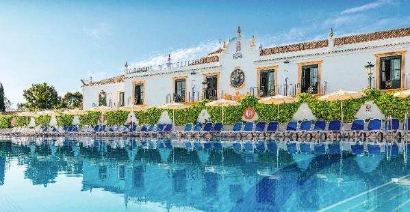 Parmi les 9 nouveaux clubs francophones de TUI pour l'été 2019, 5 sont en Espagne. Ici, le Club Marmara Pueblo Andaluz - DR : TUI