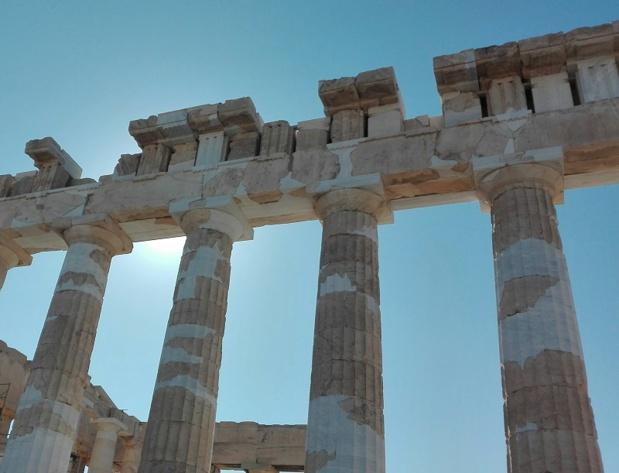 Le printemps et l'automne sont des saisons idéales : la grande foule des touristes est absente, les Athéniens sont dans la rue et l'on respire mieux - DR : J.P.