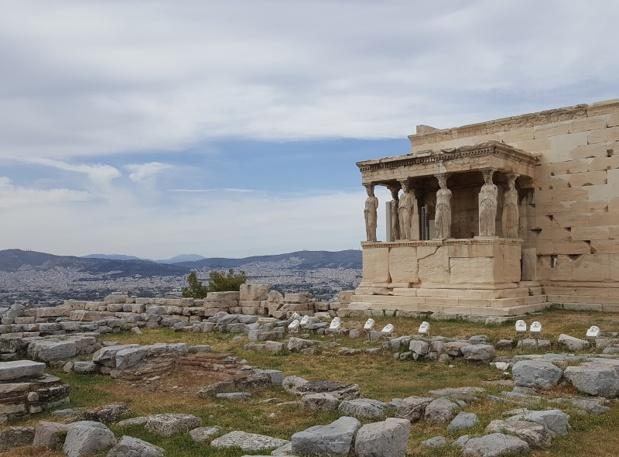C'est sur le rocher de l'Acropole que s'agrègent les vestiges de la cité antique - DR : A.B.