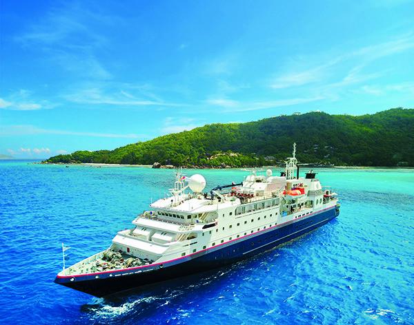 La Belle des Océans est dotés de 7 ponts et dispose d'une capacité de 120 passagers - DR