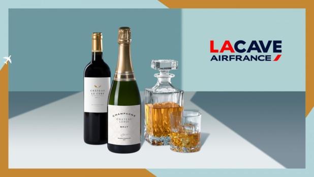 Air France renouvelle tous les deux mois sa sélection de vins et champagnes proposés à bord de ses vols - DR