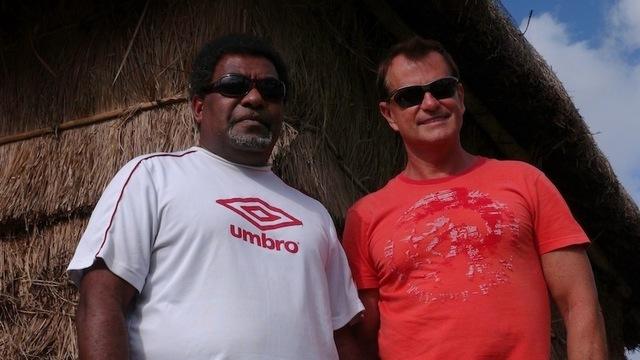 Jacques Houssard & Jean-Jacques Ajapuhnya, respectivement directeur général et directeur général adjoint de Destination Iles Loyauté. Photo DR JdL